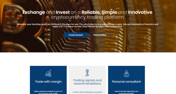 One of the Best CryptoCurrency Broker to Trade with – StsRoyal: A Brief Outline –